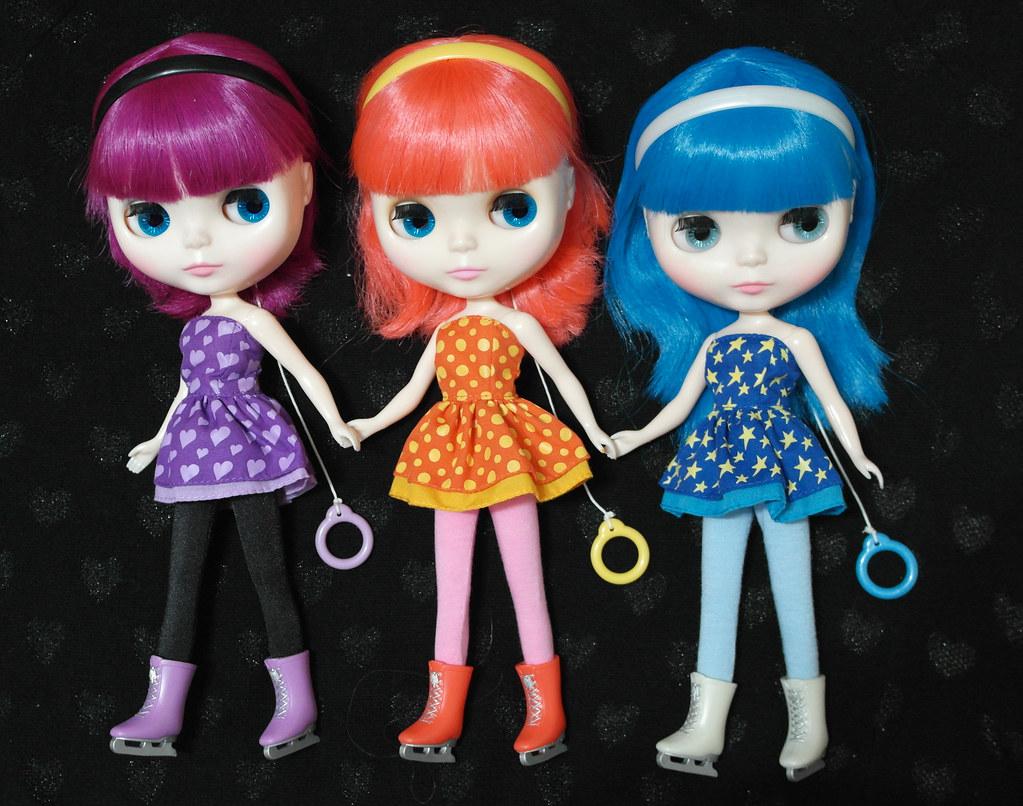 Bruna Laila trio colorido: laila, bruna e sophia | regina | flickr