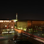 Downtown D.C. from hotel