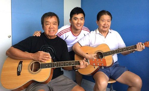 Group guitar lessons Singapore Lawrence Jimmy
