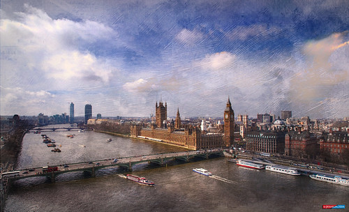 city sky london westminster rio thames river nikon parliament bigben ciudad cielo londres tamesis parlamento panorámica panoramicview jesuscm