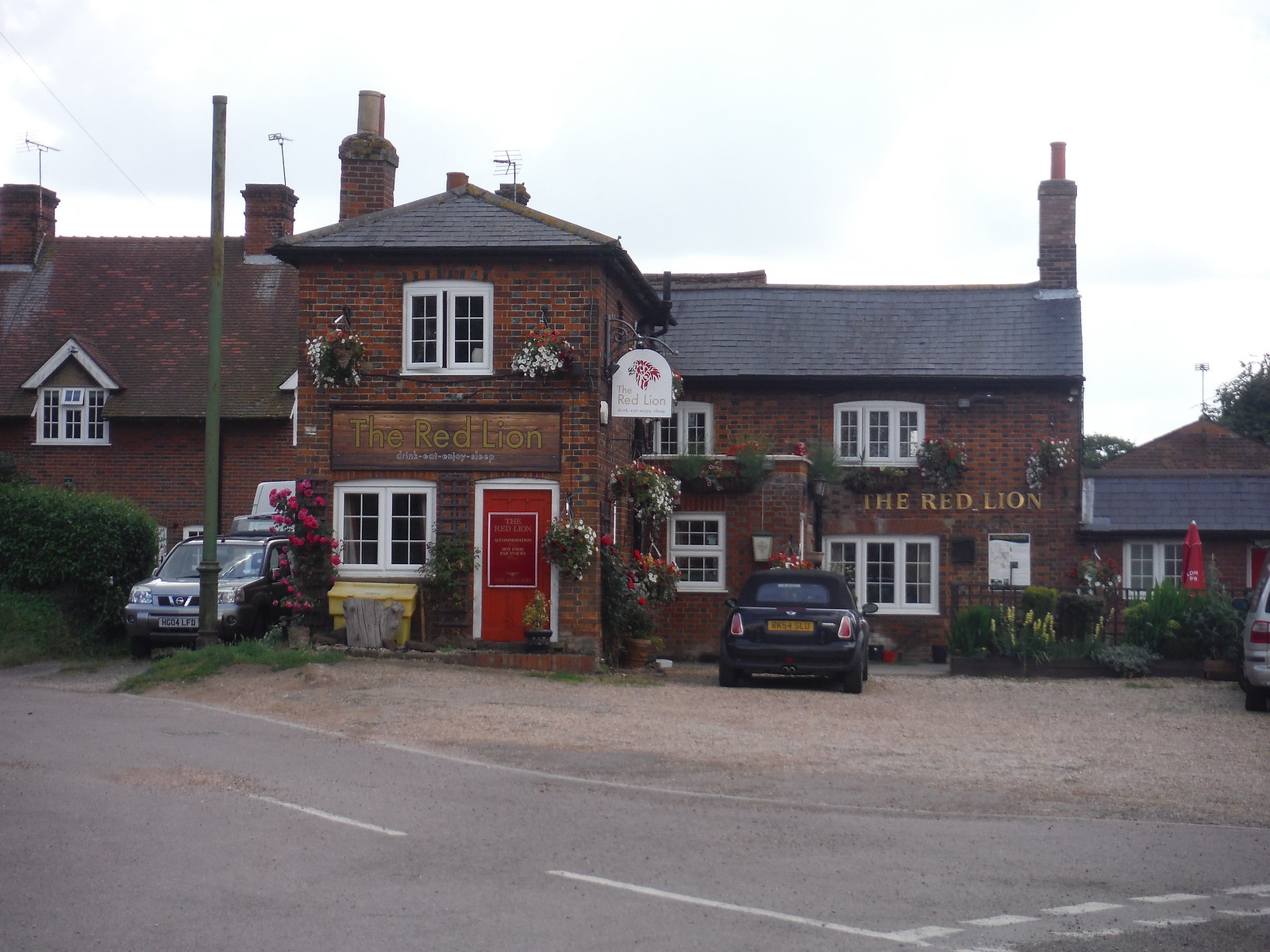 The Red Lion, Great Offley SWC Walk 234 Hitchin Circular