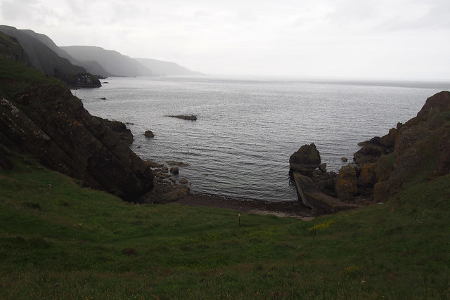 View from St Abbs