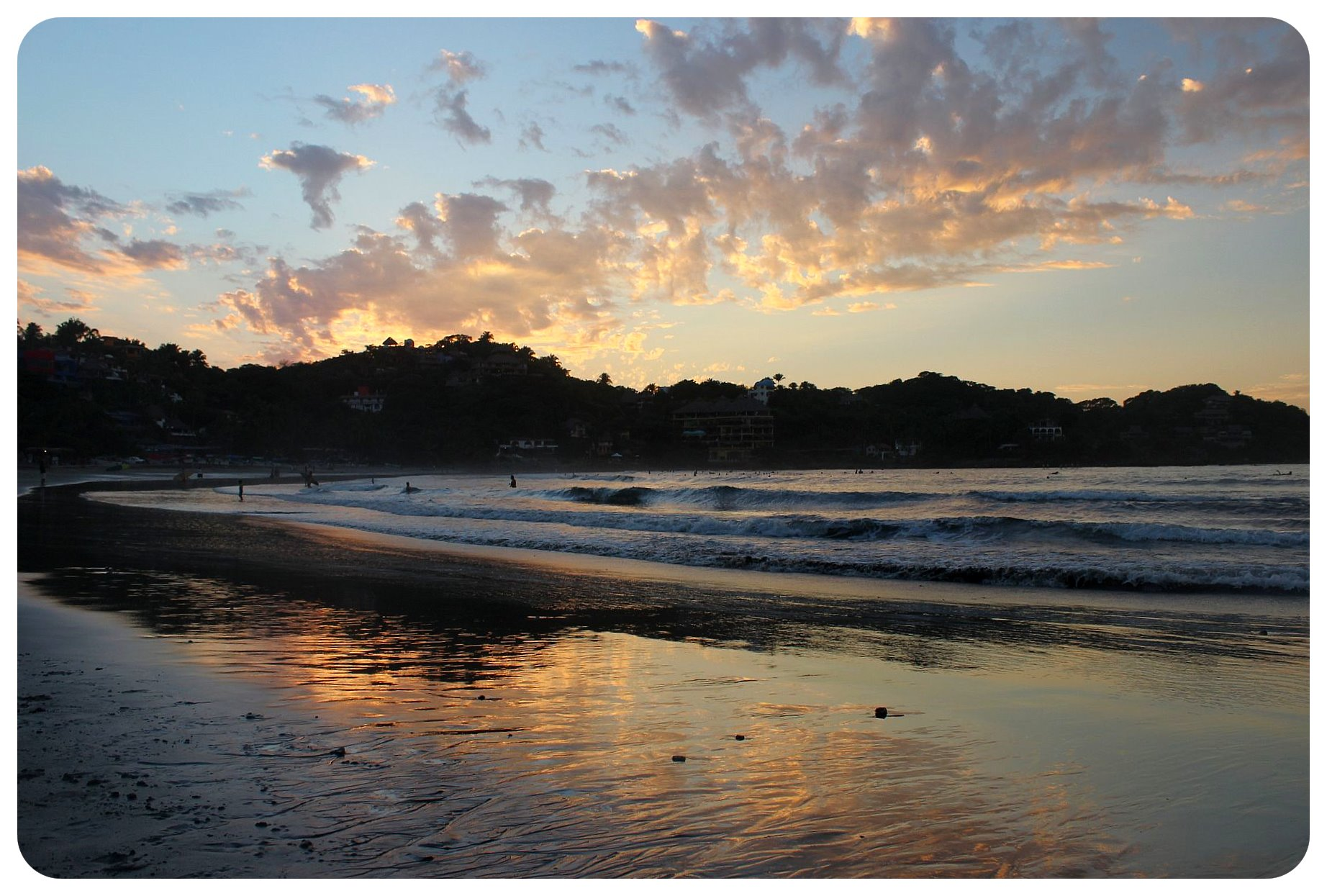 sayulita sunset sky mexico