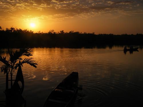 sunrise river boat lodge westafrica compact fujifinepix lightroom thegambia mandina