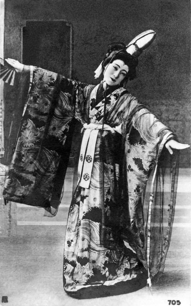 Sadayakko as Musume Dojoji 1907