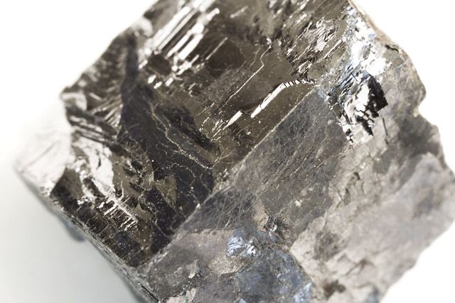 Section of pyrite
