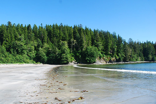 Beach at Pachena Bay, Bamfield, West Coast Vancouver Island, British Columbia