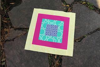 January Square-In-Square Block | by jenniferworthen