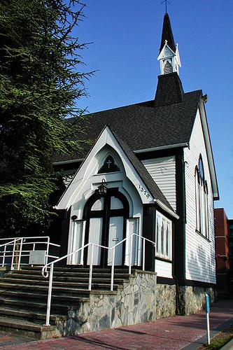 St. Paul's Church, Esquimalt, Victoria, Vancouver Island, British Columbia, Canada