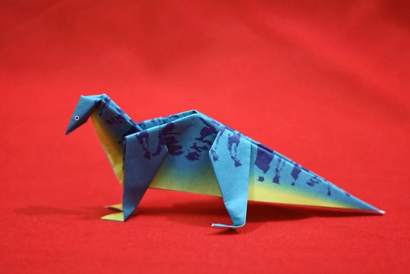 Origami Roccosaurus