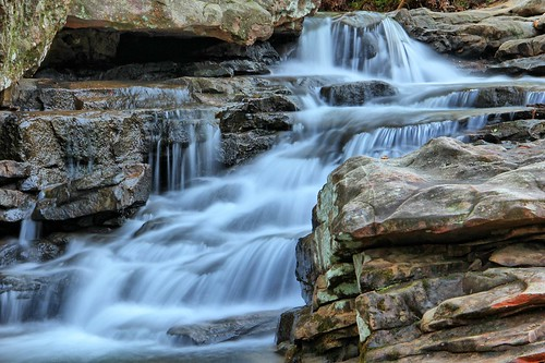 longexposure rock waterfall al birmingham stream rapids boulders hoover preserve hdr mossrock mossrockpreserve easyhdr
