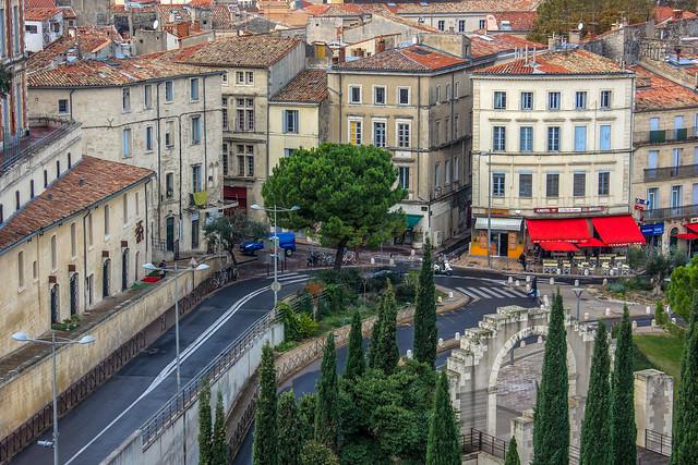 Écusson de Montpellier, Francia.