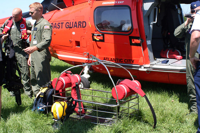 USCG Equipment for Water Rescue