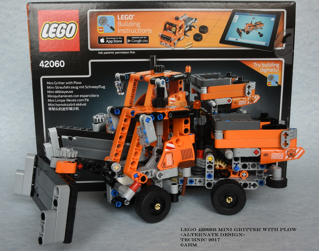 LEGO 42060B Mini Gritter with Plow | LEGO 42060B Mini Gritte… | Flickr