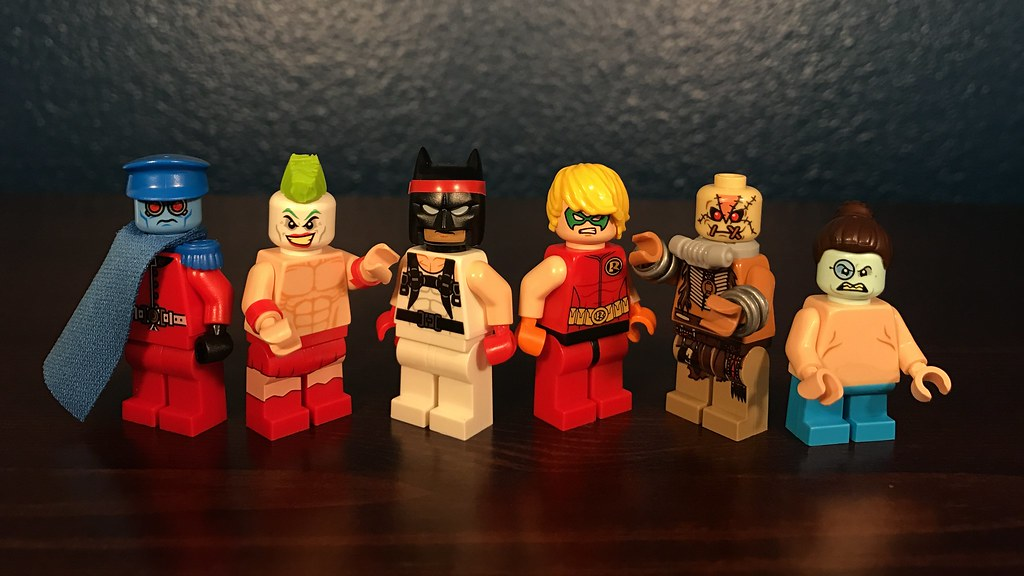 Lego Custom Street Fighter Batman Characters Entry 2 To Flickr