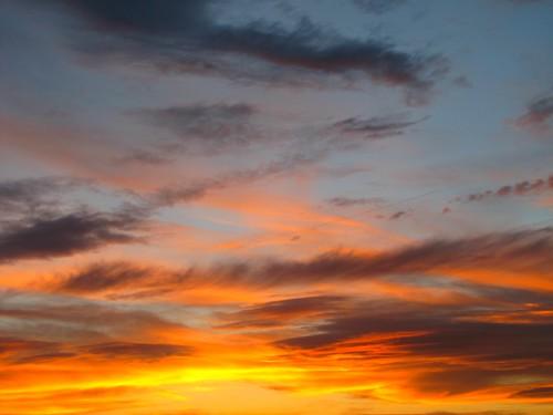 sunset sky clouds colorado montrosecolorado