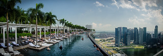Marina bay sands roof top swimming pool | by Mehdi Ait Ighil