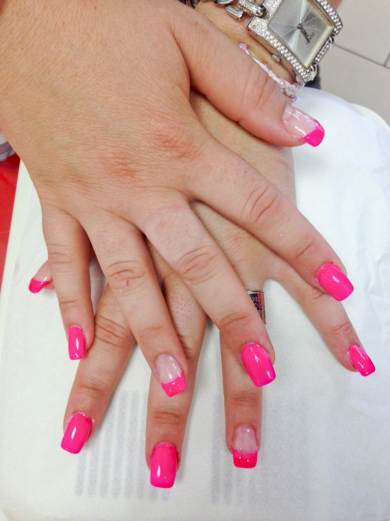 ongle quick epil gel rose fluo