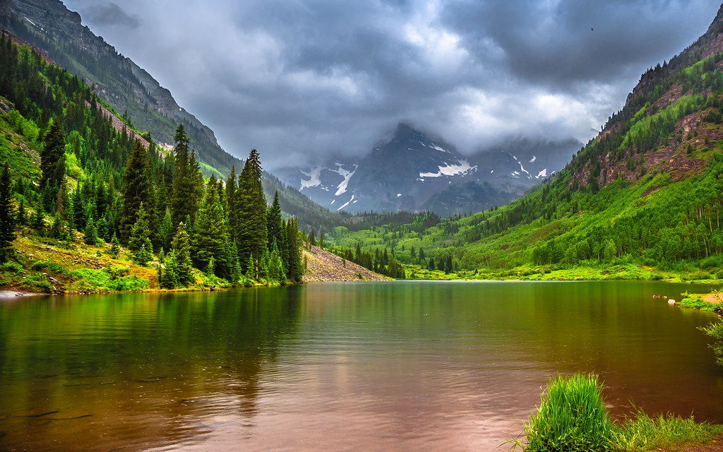 Maroon Bells Aspen Co The Most Photographed Location In