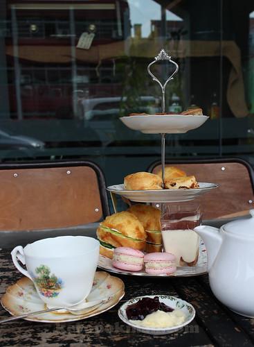 Carpentar and Cook, Dilmah High Tea Set | by keropokman