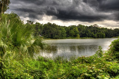 sky storm nature water clouds canon woods florida outdoor gainesville hdr tonemapped 60d
