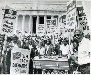 Bury Jim Crow at March on Washington: 1963 | by Washington Area Spark