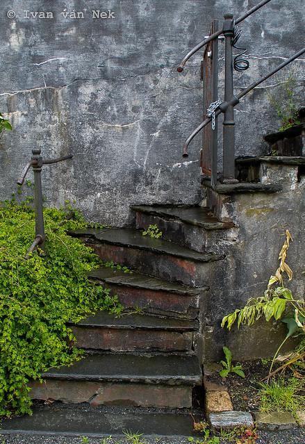Stairs in Bergen, Norway