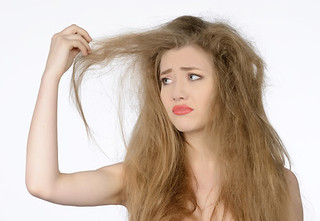 Felejtse el a töredezett hajat