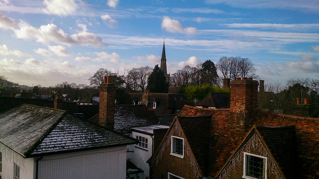 View From The Market House, Princes Risborough