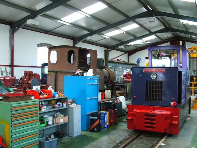 GVR Workshops, Midland Railway Centre. 2008