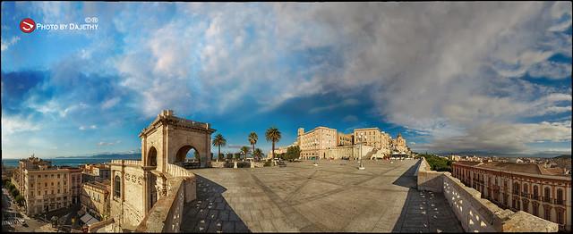 Bastione Saint Remy Cagliari by Dajethy <<< Buon Anno 2014 a Tutti >>>