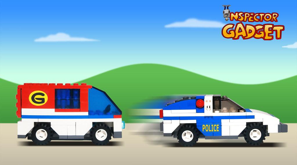 Inspector Gadget - Van to police sports car transformation… | Flickr