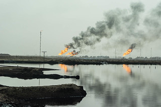 Gas Flaring, Iraq | by Earth & Marine Environmental Consultants (EAME)