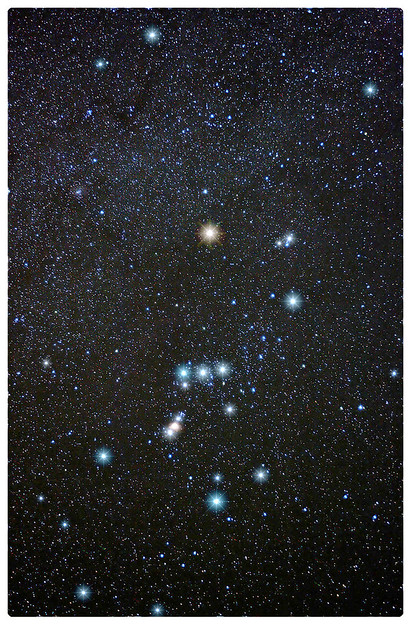 Orion Constellation Color Stars Tripod Israel Astrophotography