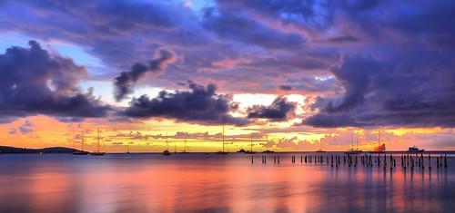 tropical colores color atarteser sunset boqueron caborojo puertorico boqueronsunset atardecerboqueron caborojosunset atardecercaborojo caborojopr