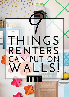 9 Things Renters Can Put On Their Walls | by TheHomesIHaveMade