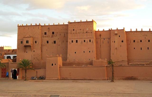 Marokko , Quarzazate, KasbahTaourirt, 9-3/2448