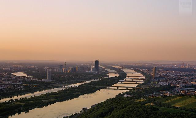 Vienna at daybreak