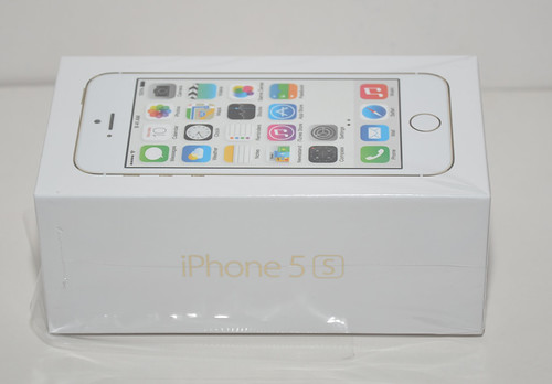 Apple iPhone 5s Gold   by altantic