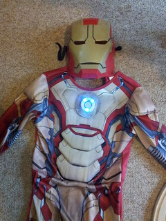 Arc reactor on Iron Man costume | by lilspikey