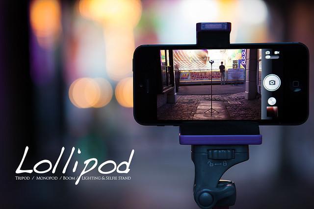 Lollipod.com - The Tripod / Monopod / Boom / Lighting & Selfie Stand