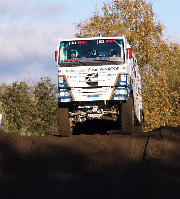GINAF @ RTL GP Dakar Preproloog 2013