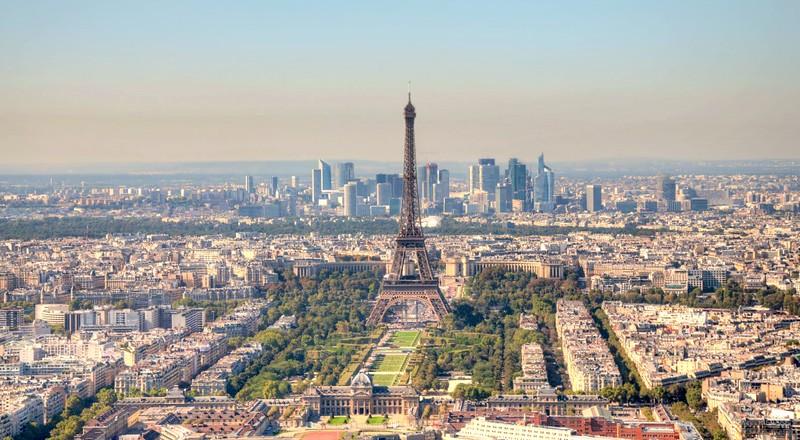 Paris seen from Montparnasse Tower