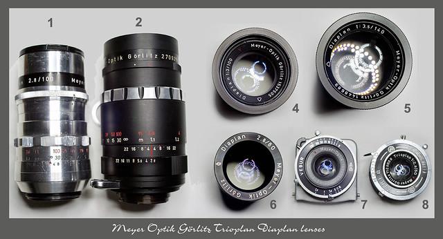 Meyer Optik Trioplan - Diaplan (Triplet)