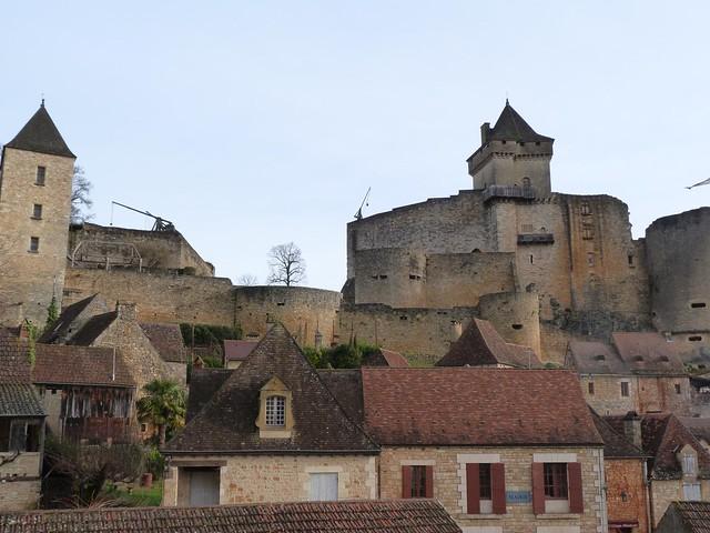 Castillo de Castelnaud-la-Chapelle (Périgord, Francia)