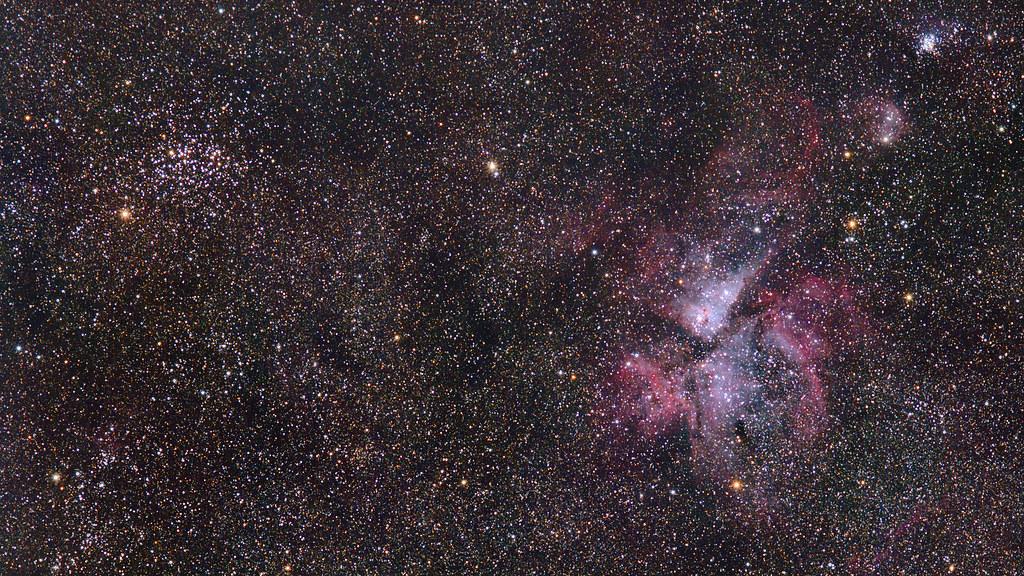 Carina Nebula Widefield