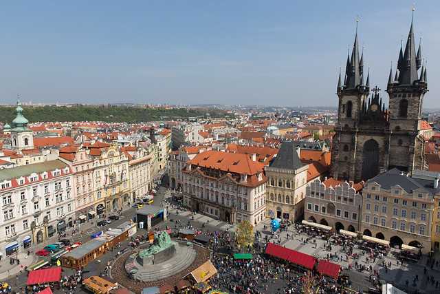 The Old Town Centre Of Prague