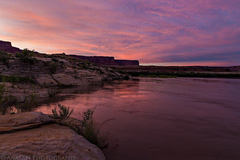 Green River Sunset