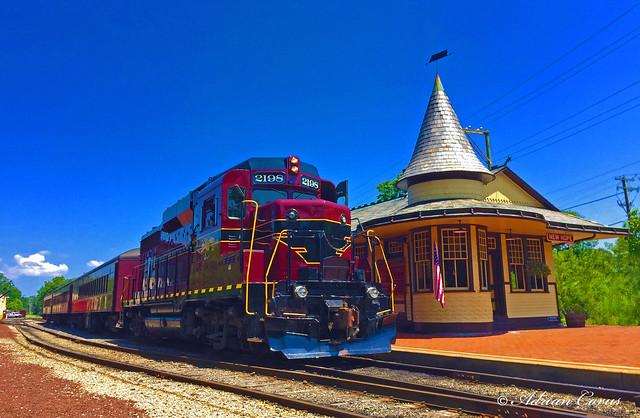New Hope & Ivyland Railroad in New Hope, PA