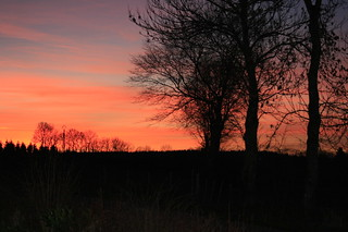 Wirtzfeld Valley Sunset